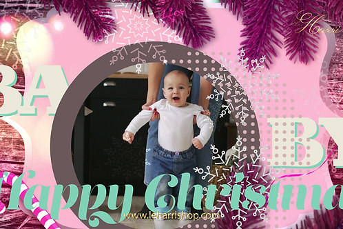 HAPPY CHRISTMAS BABY