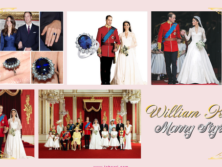 LeHarri Studio 영국 윌리엄 K 결혼식 MARRY 드레스 패션