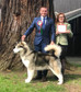 Tobougg wins Best of Breed at NWAPB Champ Show Apr 18