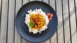 Kichererbsen Rice Curry