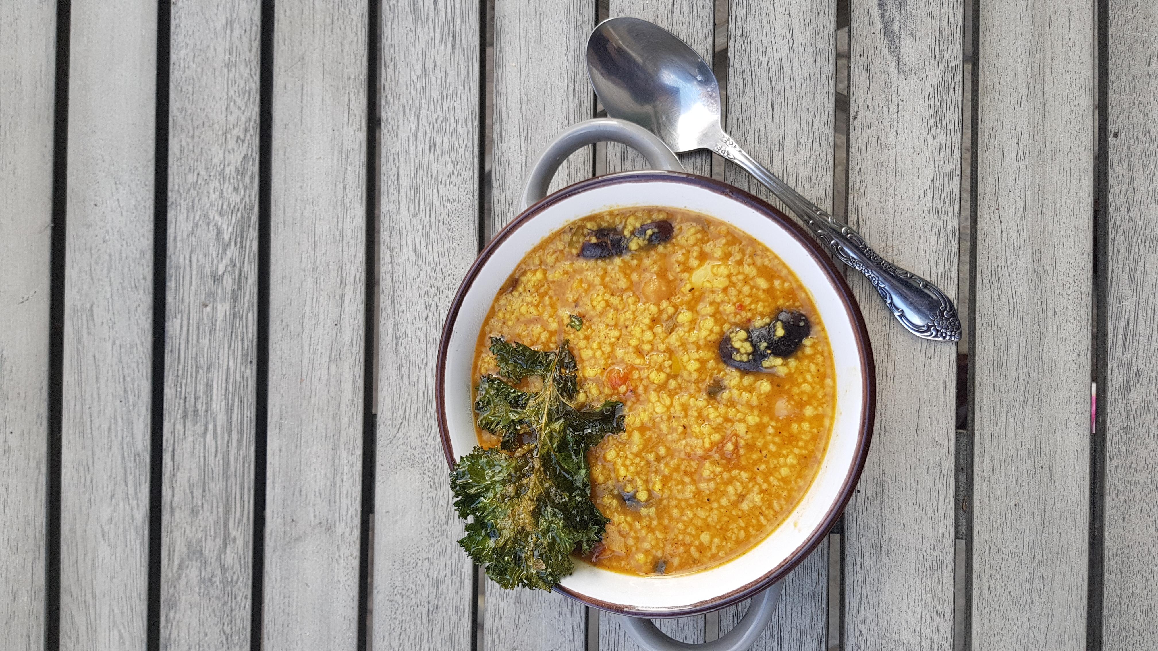 Vegan Couscous Gemüse Auflauf