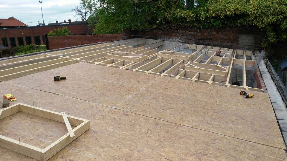 Flat roof in Newark