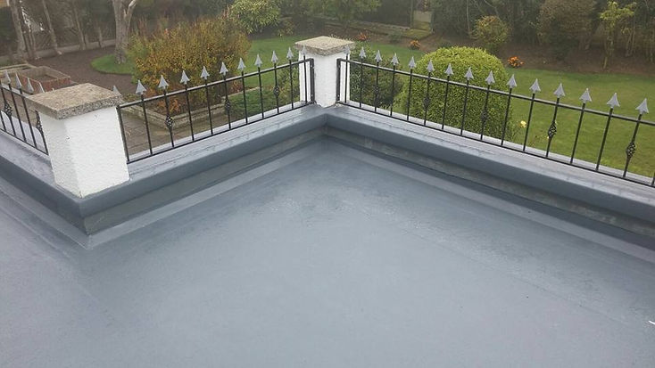 fibreglass flat roof in Retford