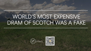 WORLD'S MOST EXPENSIVE DRAM OF SCOTCH WAS A FAKE