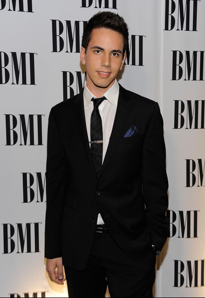 Cody arriving at the BMI Pop Music Awards to help honor his mentor, David Foster, with a lifetime achievement award.