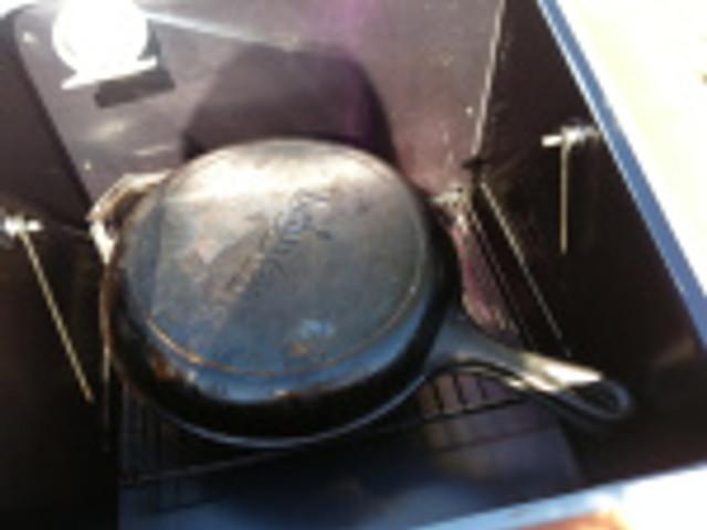 Dutch oven pre-heating