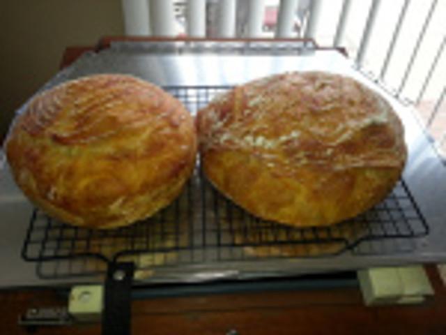 Forkish overnight white bread