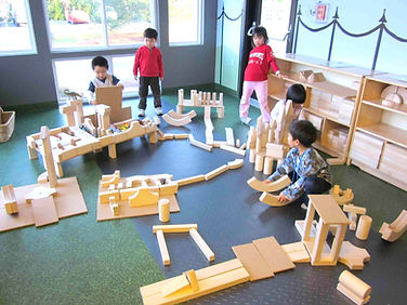 Extended Day includes time in Discovery Park, a great place for children to cultivate their creativity