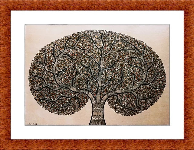 Madhubani Painting - Tree of Life