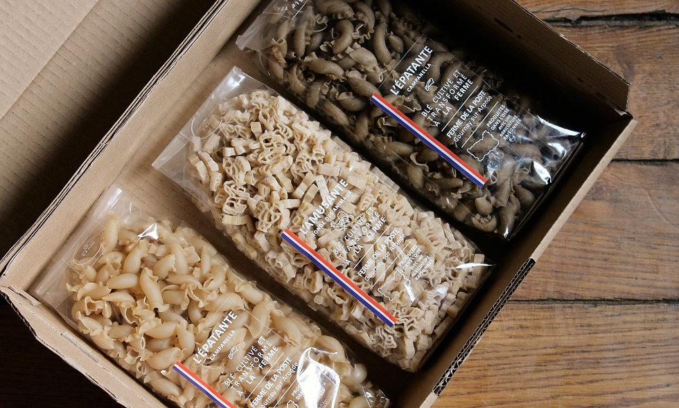 La box trio blé / sarrasin