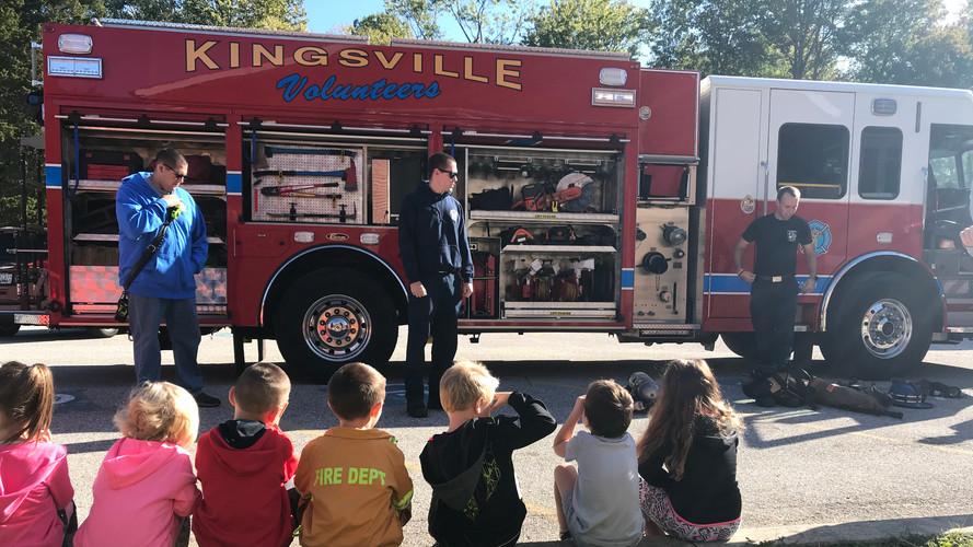 Fire Safety Week Visit