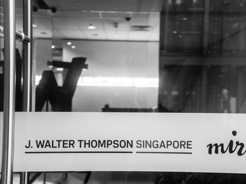 Learning business strategy one-on-one with J. Walter Thompson Singapore