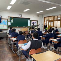 2021. 3. 11 부산 대신 중학교 드론수업