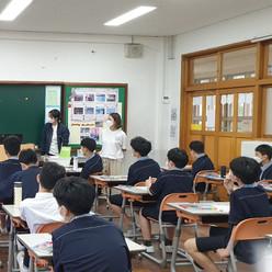 2021. 6. 3 부산 대신 중학교 드론수업