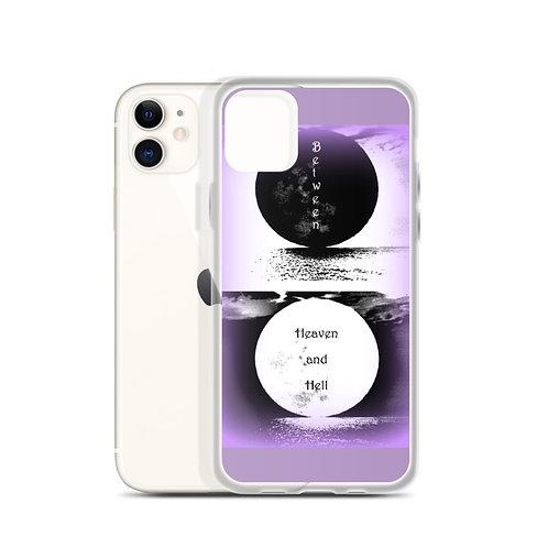 Purple Moonlight Mist iPhone Case Between Heaven and Hell