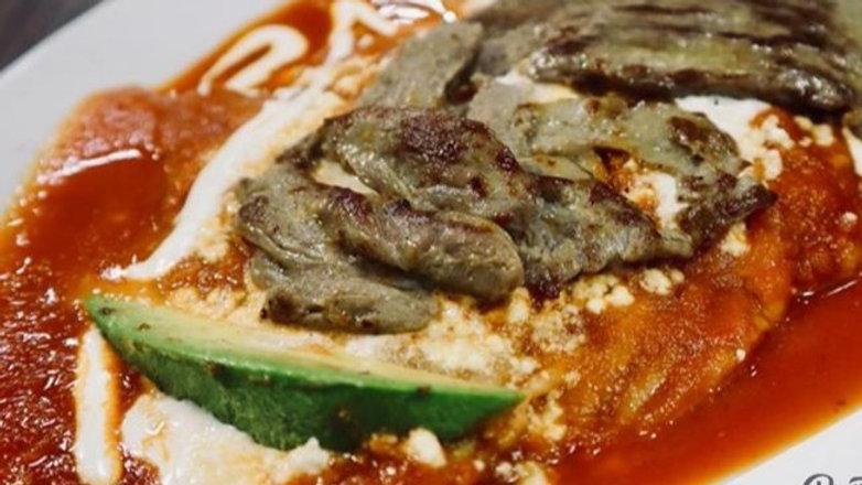 Enchiladas de con Arrachera