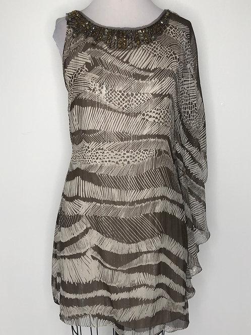 BCBG Brown Dress Size 6