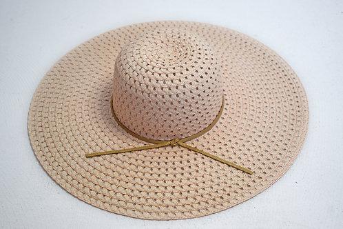 Peach Derby Hat
