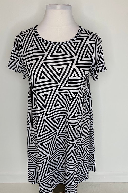 Black & white dress size 14