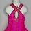 Thumbnail: Ritzee Girl Hot pink Girls Pageant - Size 6