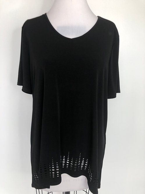 Chico's Black Shirt Size 2