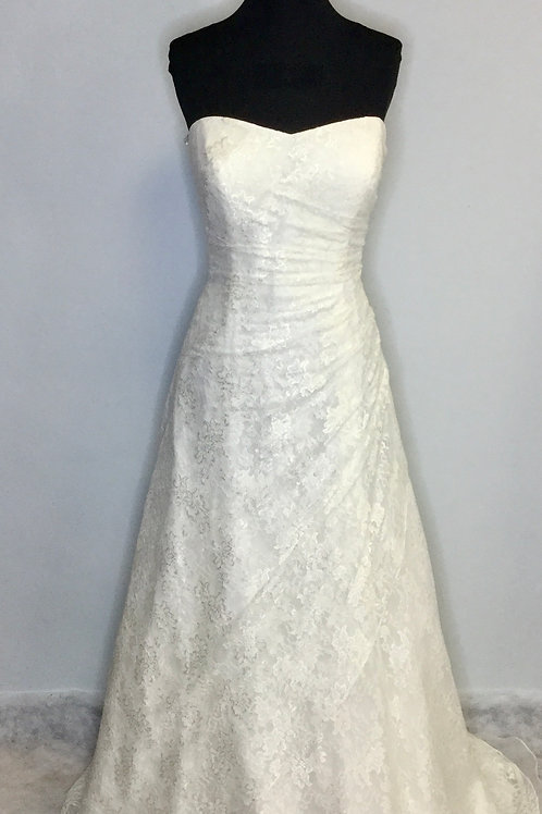 David's Bridal Lace - Size 14