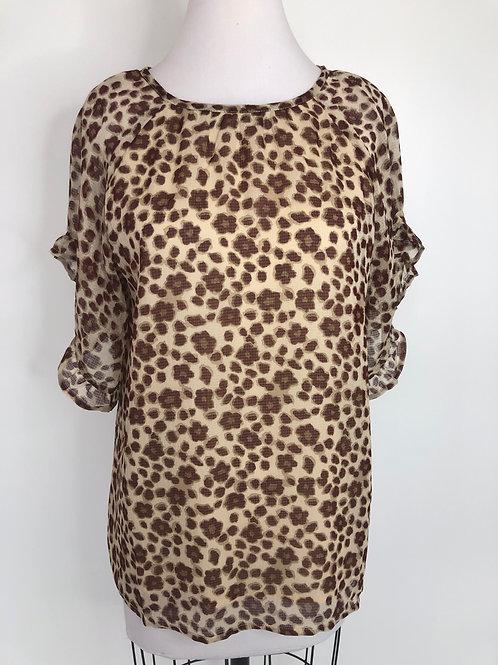 New! Leopard Shirt Medium