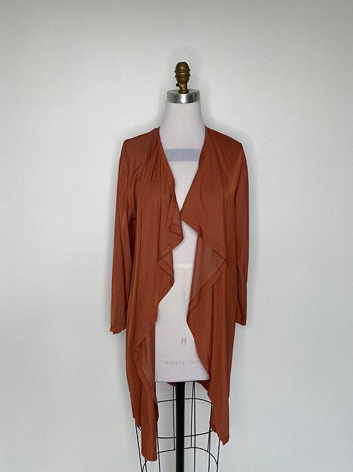 Orange Kimono Top One Size