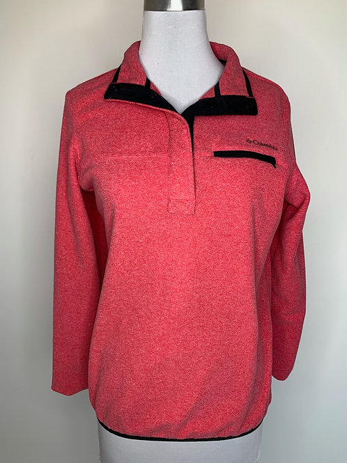 Red Columbia pullover - size small