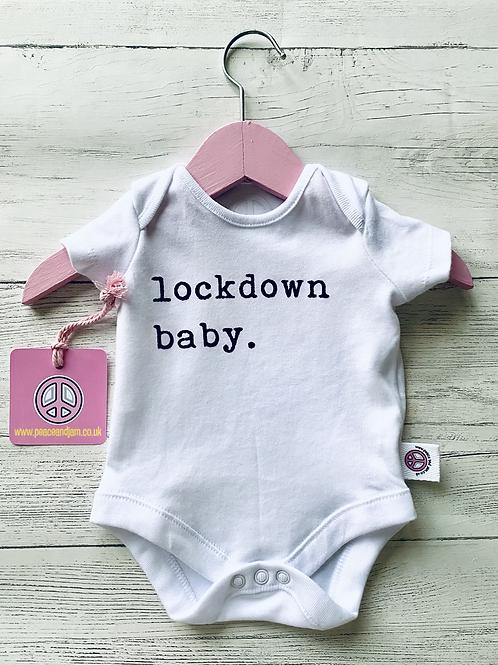 'Lockdown Baby'  Onesie