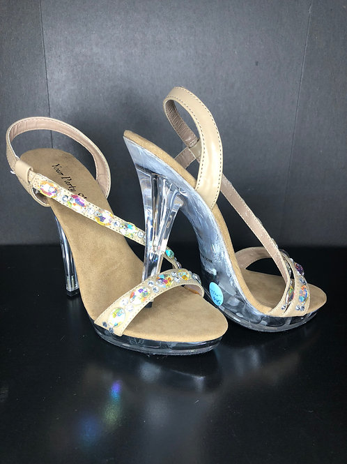 AB and Nude Shoes - Size 5 1/2