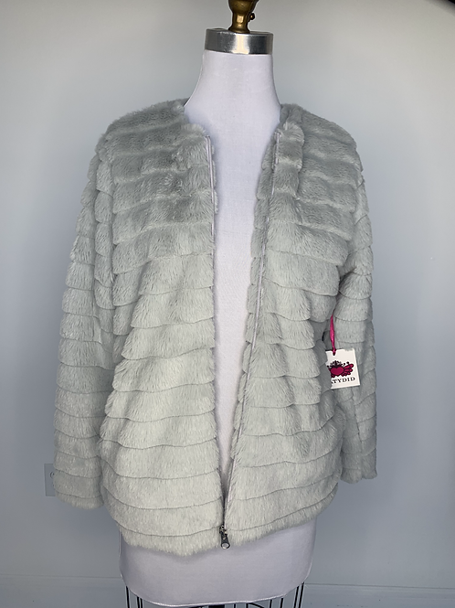 Faux Rabbit Jacket -Small
