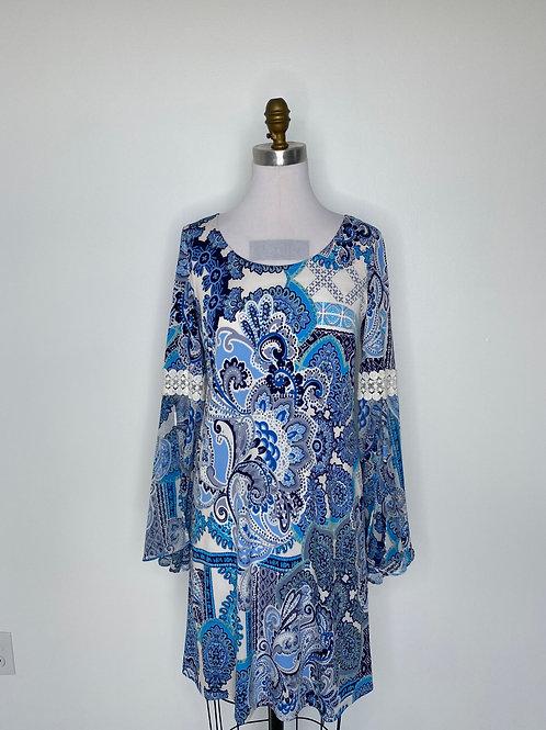Blur Print Dress Size 4