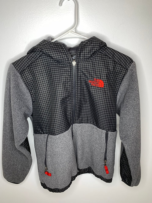 The North Face Gray jacket Boys - size Medium