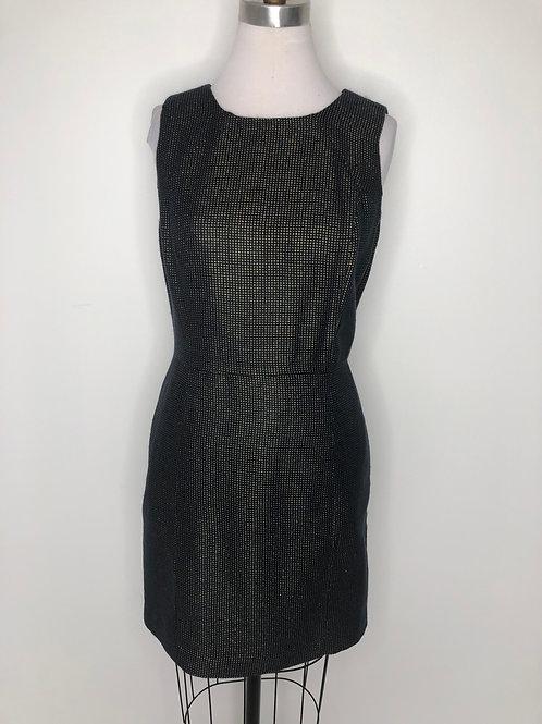 Michael Kors Navy and Gold Dress Size 8 Petite