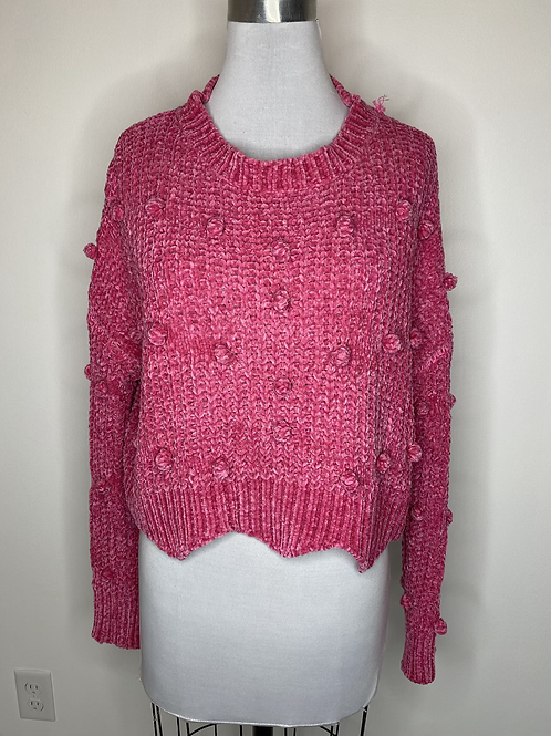 Pink Sweater - size small