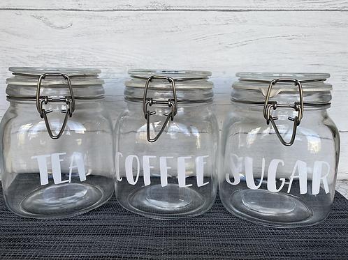 Storage Jar Labels - £1.00 per word