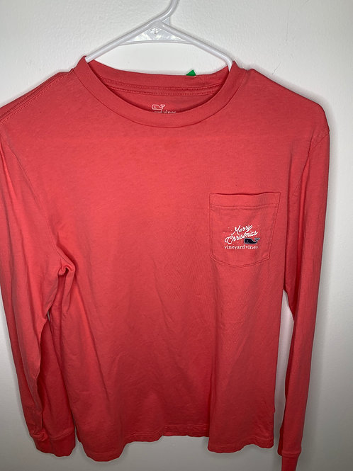 Vineyard Vines Red Shirt Boys - Size XL