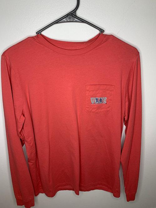 Vineyard Vines Red Shirt Boys - Size XL