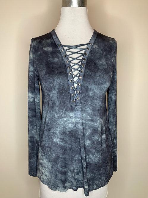 American Eagle Blue Tie Dye - Size XS