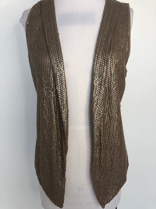 Chico's Brown Vest Size 0 Small