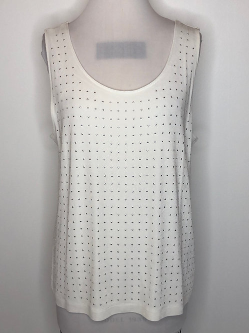 Chico's Travelers White Top Size 3