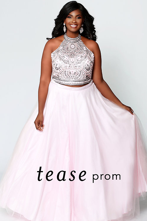 Tease Prom Tulle Two Piece - Sizes 14-24