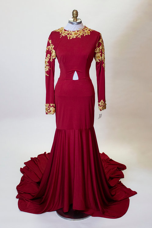 Red and Gold - Size 4