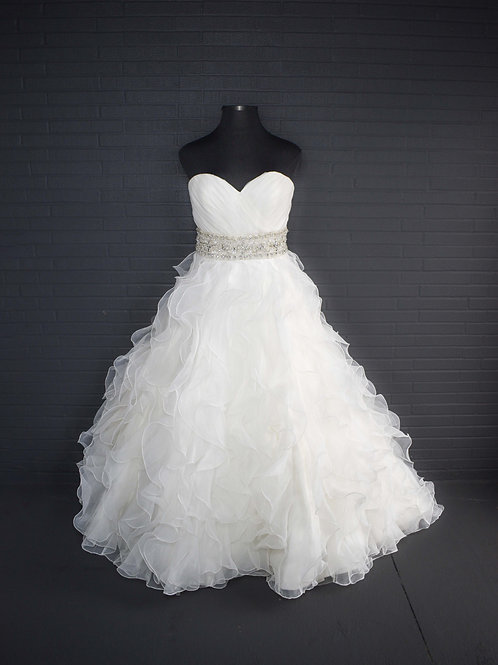 Mori Lee Ivory Wedding Gown -Size 18
