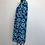 Thumbnail: NEW! Blue Floral Print Dress XL