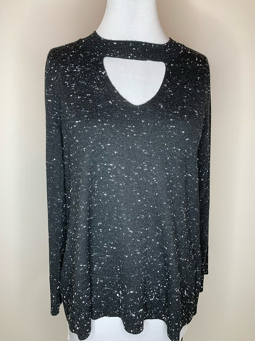 Ann Taylor Black & White Sweater - Size Medium