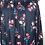 Thumbnail: Navy Floral Blouse 1X