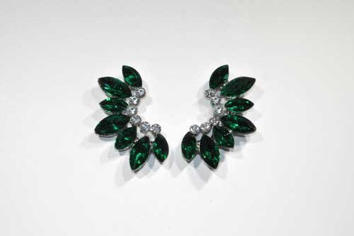 Emerald Wing Stud
