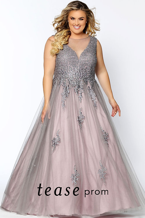 Tease Prom Lace and Tulle - Sizes 14-24